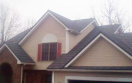 Another stone coated metal roof we installed in Webster NY last summer